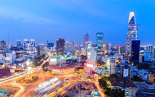 Flights from Hanoi to Ho Chi Minh City